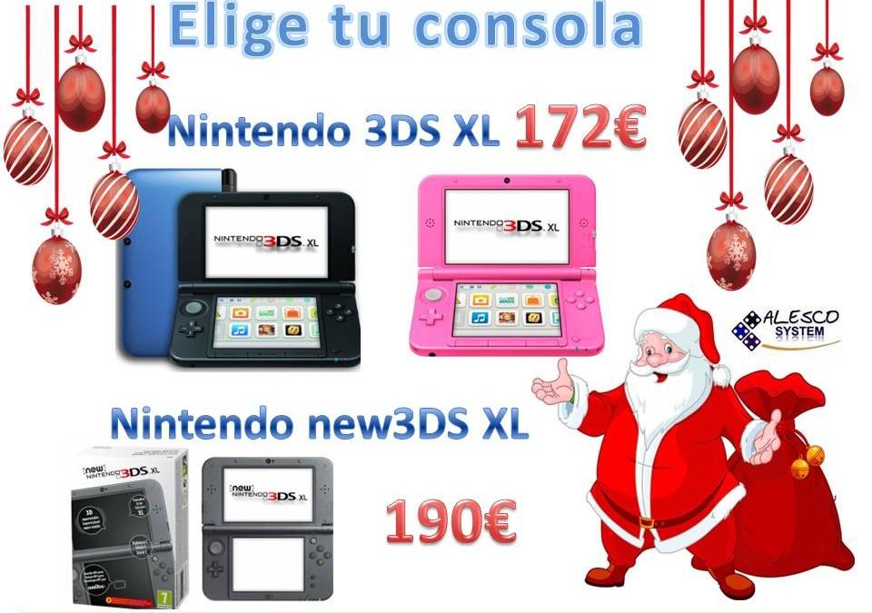 Videoconsolas Nintendo 3DS XL