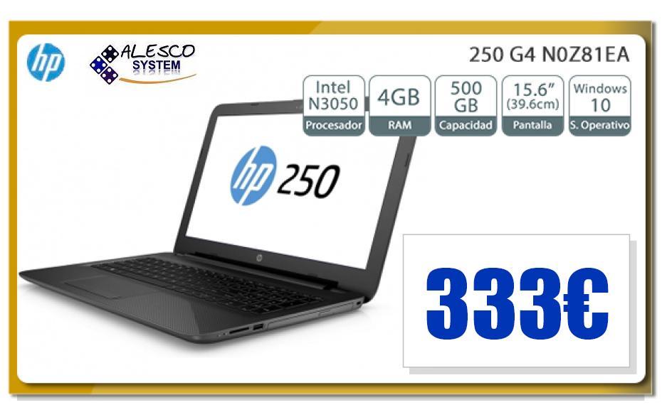 OFERTA PORTATIL HP 250G 4 333€